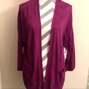 OLD NAVY Light Purple Cardigan Sweater